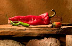 chiles peppers fine art print copyright AZP Worldwide / All rights reserved